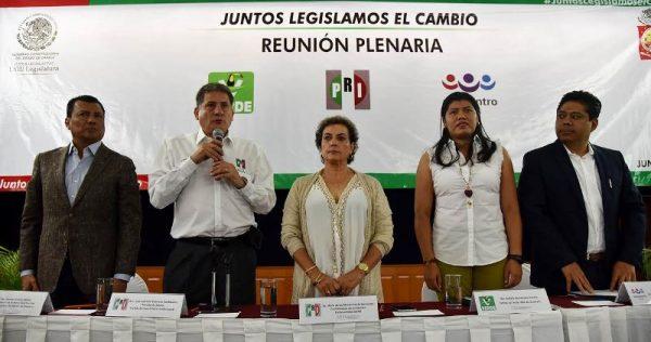 En reunión histórica definen diputados del PRI agenda legislativa