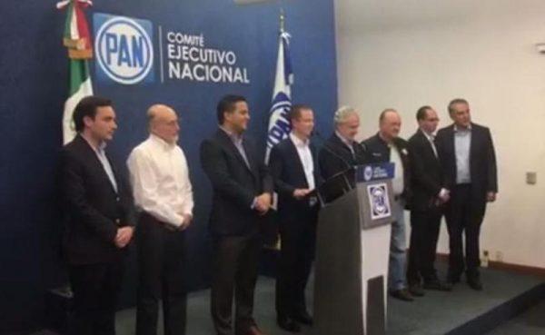 #Elecciones2017 Anaya da como ganador al PAN en 3 estados