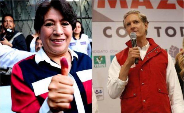 #Elecciones2017 PRI y Morena se declaran ganadores en el Estado de México