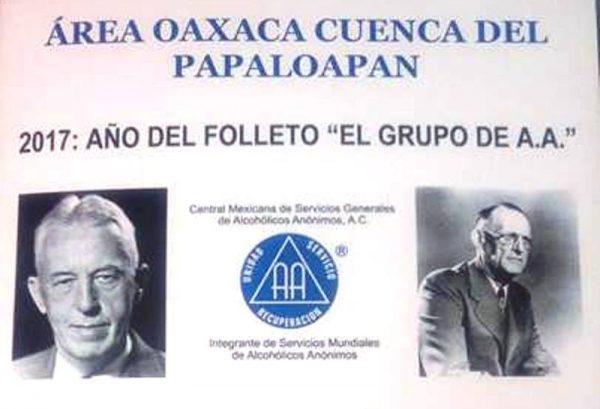 AA Oaxaca-Cuenca, prepara conferencias por 82° aniversario