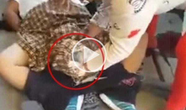 VIDEO: La hacen esperar 4 horas y da a luz en la banqueta del hospital