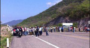 Bloqueos de carreteras en la región del Istmo
