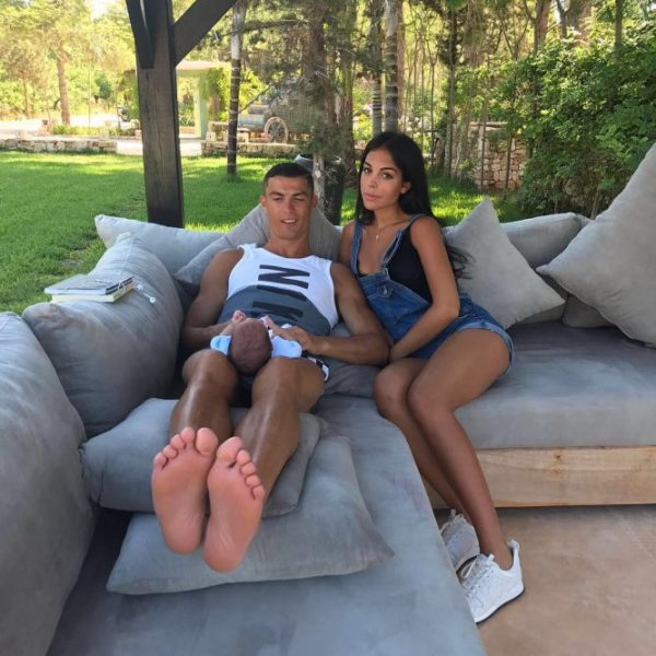 Las fotos más veraniegas de Cristiano Ronaldo y Georgina Rodríguez