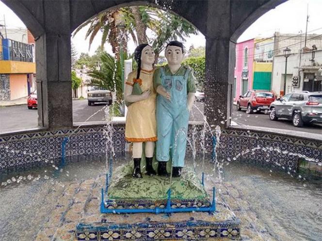 En Puebla dicen que por la noche estos muñecos cobran vida