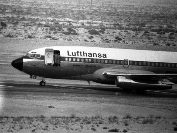 Avión alemán secuestrado regresa después de 40 años