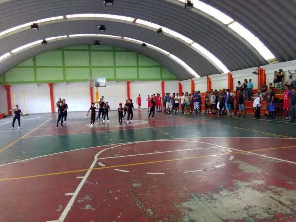 Inauguran torneo relámpago de basquetbol en Tuxtepec