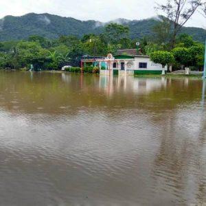 Inundación en Santa Ursula
