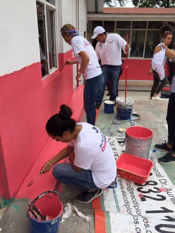 Inicia Ivette Morán tequios en Centros de Atención Infantil