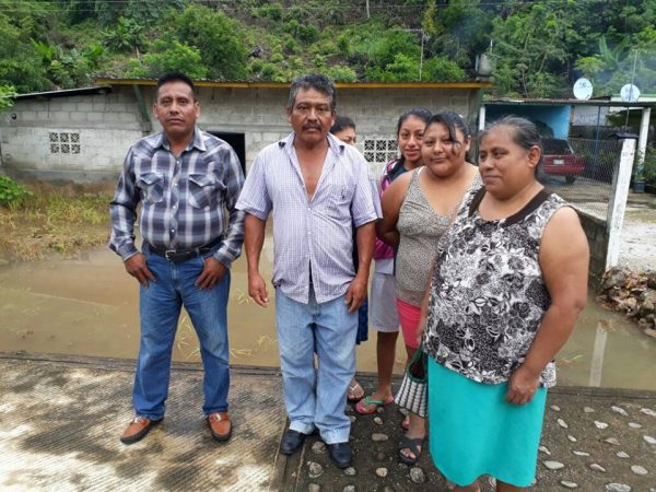 Fuertes lluvias afectan viviendas en Tres Marías de Valle Nacional