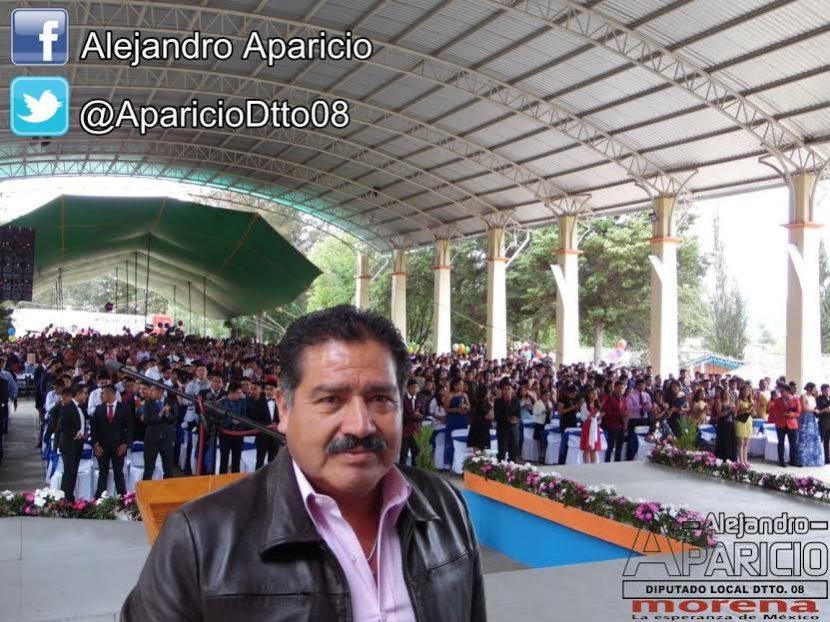 Nuestros jóvenes la esperanza de la Mixteca: Alejandro Aparicio