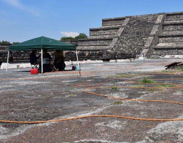 Arqueólogos encuentran evidencia de un posible túnel bajo la Pirámide de la Luna