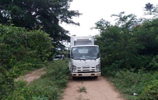 Policías estatales localizan vehículo robado horas antes