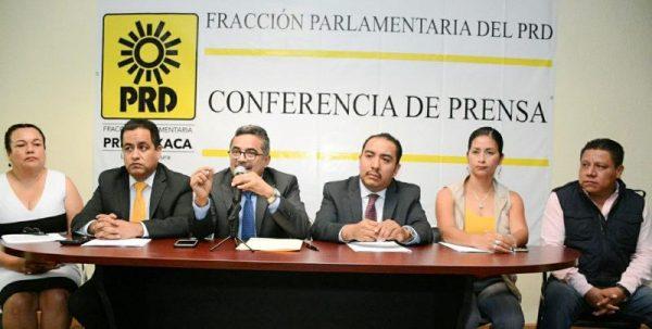 Exige PRD comparecencia de integrantes del Gabinete por falta de resultados