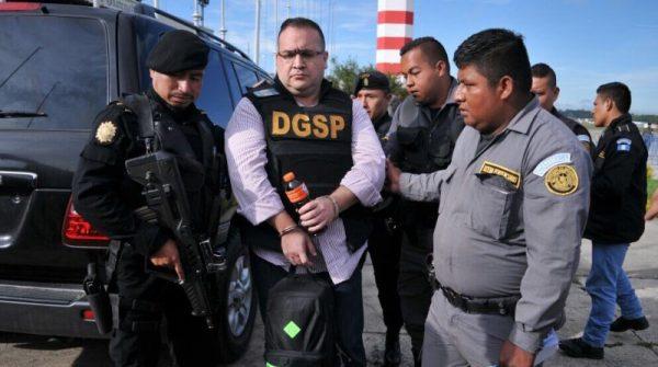 Javier Duarte ya está en el Reclusorio Norte