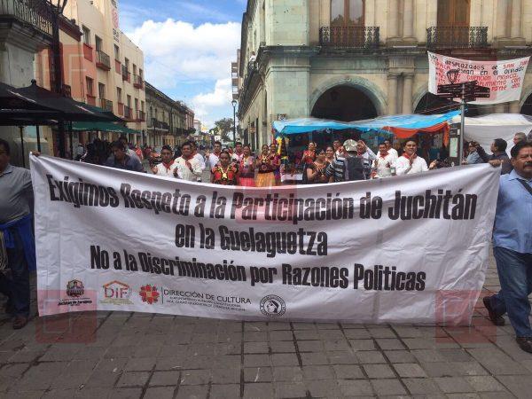 Juchitán reclama su participación en la Guelaguetza