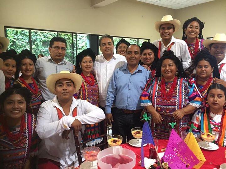 Titular de CDI expresó su reconocimiento a la delegación del Jarabe Usileño