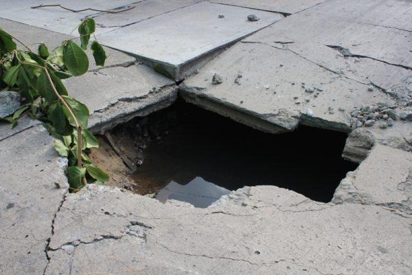 Existen 40 puntos de colapsamiento en red de drenaje en Tuxtepec