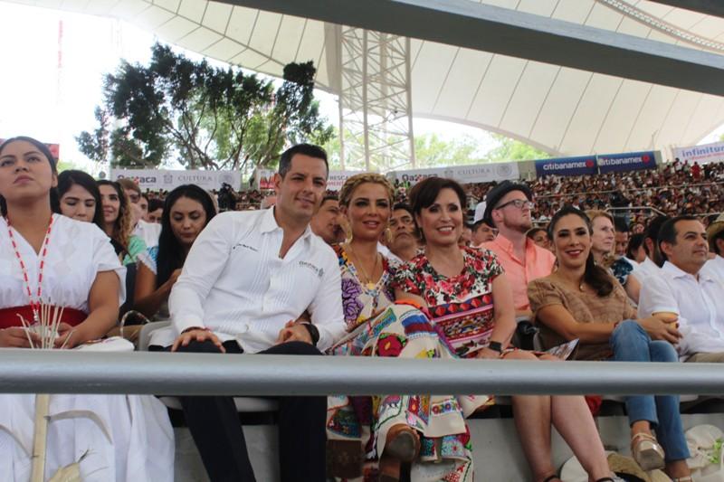 La Guelaguetza es apartidista, es fiesta de los oaxaqueños: Murat