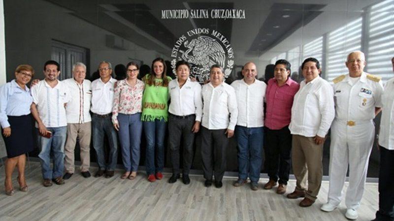 Promueve Gobierno de Oaxaca la atracción de inversiones en el Puerto de Salina Cruz
