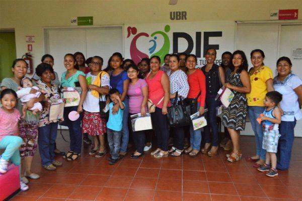 Invaluable  el apoyo de una madre ante la discapacidad: DIF Tuxtepec