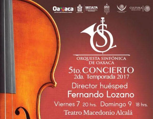 La Orquesta Sinfónica de Oaxaca cierra temporada