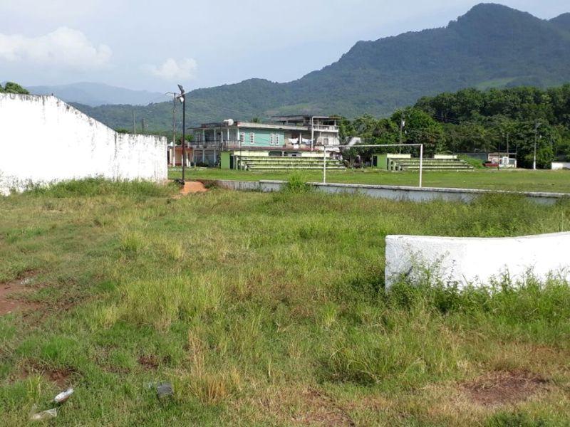Unidad Deportiva de Valle Nacional, 5 años en el olvido