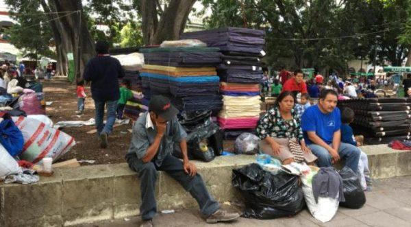 Desalojados de la Vicente Guerrero instalarán chozas en el zócalo