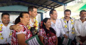 Arranca Sedesol en Oaxaca programa nacional de entrega de Estufas de Gas.