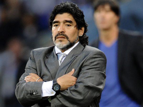 Maradona es acusado de acoso sexual