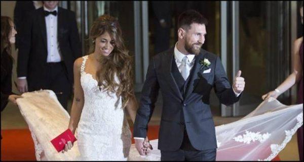 Messi donó alimentos no consumidos en su boda a entidades benéficas
