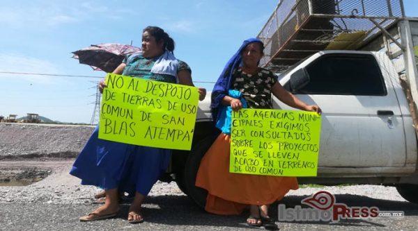 Zapotecas denuncian despojo de tierras sin previa consulta indígena