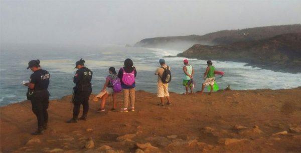 Continúan búsqueda de turista desaparecido en Puerto Escondido