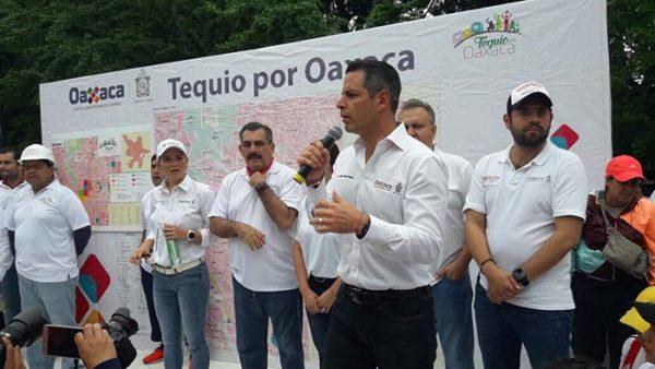 Atiende sociedad iniciativa del gobernador para sumarse al Tequio por Oaxaca