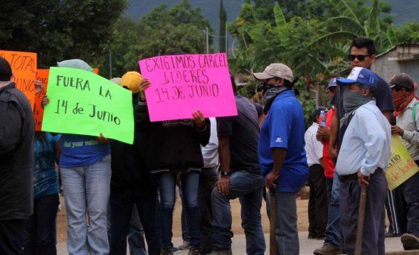 Acompaña Fiscalía a desplazados de la '14 de junio' a Zaachila