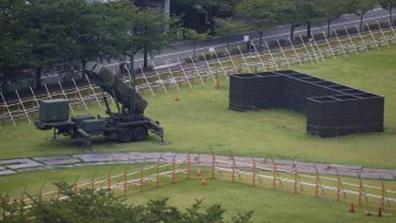 Japón desplegó su sistema antimisiles