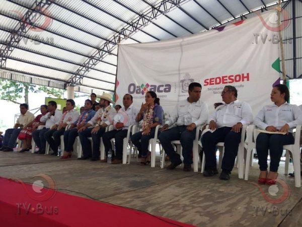 Encabeza Edil de Usila Programa de Inclusión en coordinación con la SEDESOH