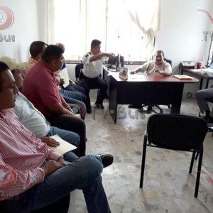 Concesionarios se reúnen con SEVITRA en Tuxtepec