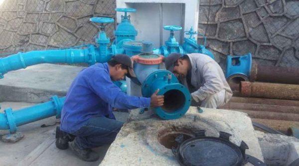 """Repararán fuga de agua de línea de conducción del pozo """"Granada"""""""