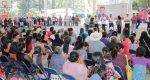 Nuevamente el Diputado local, Samuel Gurrión visita los pueblos de la Mixteca