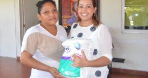 La donación de pañales un respiro para gente de escasos recursos: DIF