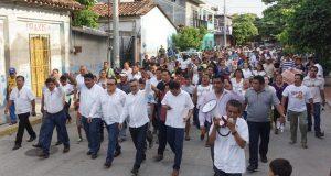 """Participa Carol en """"Jornada por la Paz"""" en Juchitán"""