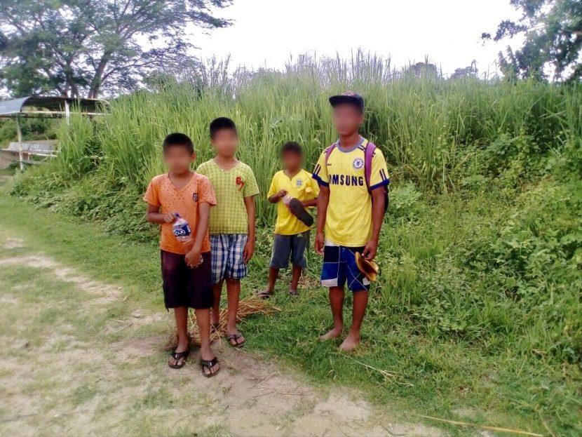 Localizan a los 4 menores reportados como desaparecidos