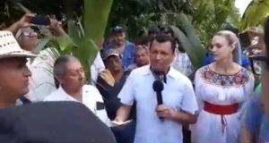 Arranca Samuel Gurrión proyecto de reforestación para preservar el pulmón de Tuxtepec