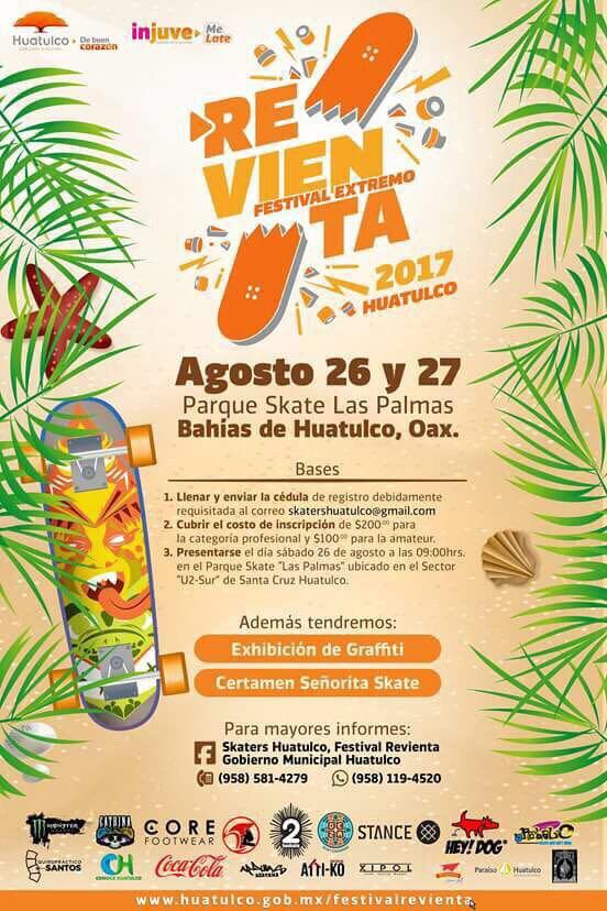 """Oaxaca será sede del """"Festival Revienta Huatulco 2017"""""""