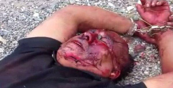 Localizan a un individuo esposado y lesionado en carretera de la Mixteca
