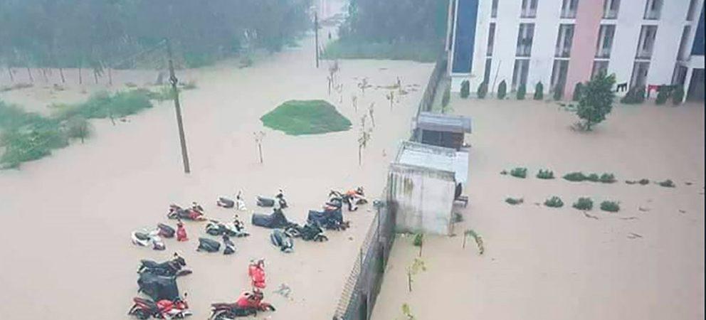 Lluvias en Nepal dejan 47 muertos