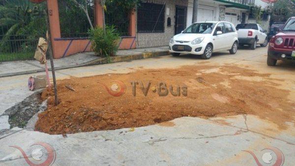 Obras públicas evaluará calle Arista y determinará si rehabilitan calles aledañas