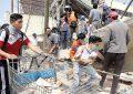 Suben los muertos... y también la ayuda; van 251 fallecidos por el sismo de 7.1