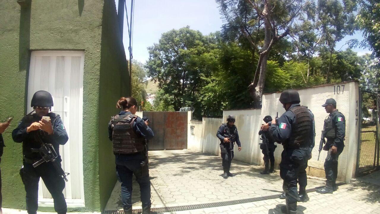 Asegura Sedena granada encontrada en un domicilio particular en Oaxaca