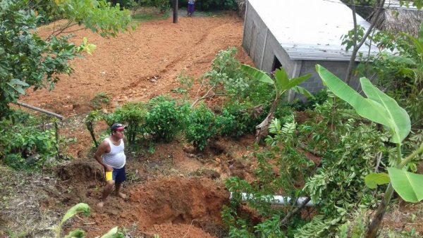 Atienden autoridades daños en carretera de Jalapa de Díaz